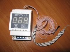 МЕЧТА-1 терморегулятор-регулятор влажности-таймер