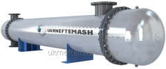 Heat exchanger of the petrochemical industry
