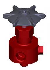 Клапаны (вентили) запорные, трехходовые 1093-10-0