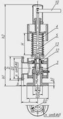 Safety valves T-31ms-1du 50 - Ru of a 3,5-4,5MP