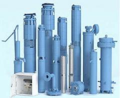 Borehole pumps for water