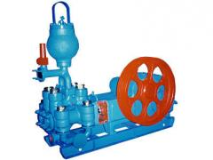 Boring pumps and installations for oil production