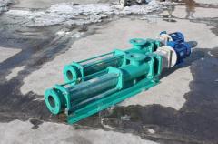 Pumps for vzvesheshenny substances (AN1V, A12VV,