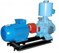 Units of axial-diagonal (auger) pumps