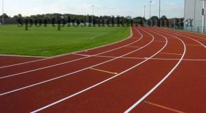 Coverings rubber for sports grounds Kiev.