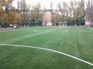 Artificial sports coverings, artificial covering
