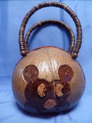сумка из кокоса