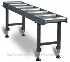 Roller conveyer (live rolls)