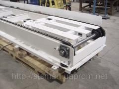 Chain conveyor, conveyor