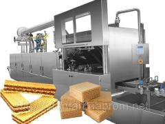 Production line of wafers