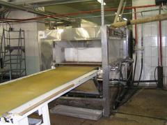 Processing confectionery line