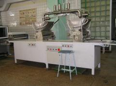 Equipment for the industry, GMP