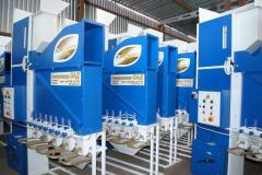 Maskiner för rening av spannmål