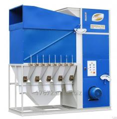 Grain separator of SAD-50 (cleaning and