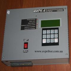 Microprocessor MIRK-4 regulator