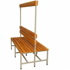 Benches with hangers bilateral