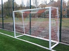 Folding football goal, gate football nurseries