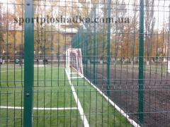 Grids for a mini-football goal with a quencher