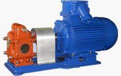 Gear pumps (NMShF, NMSh, Sh, NMShG, RZ, BMSh, BG,