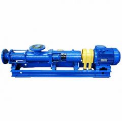 Pumps are the single-screw, twin-screw and