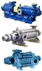 Pumps steam piston and pneumodriving (PDG, PDV)