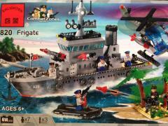 Meccano/Lego/Brick 820 Frigat wholesale