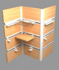 Profiles for trade office furniture