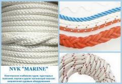 Rigging of ocean ships