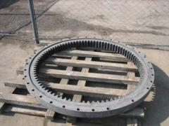 Basic and rotary ring for the caterpillar Hitachi