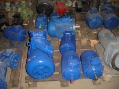 15 kW Motors 3000 rpm