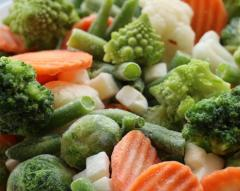 The frozen mixed vegetables of Spring 7...