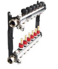 Коллектор для теплого пола 3 отвода с