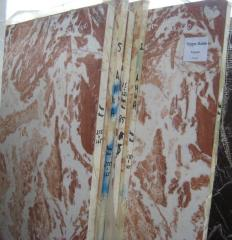 Cherry White marble (Tiger Red)