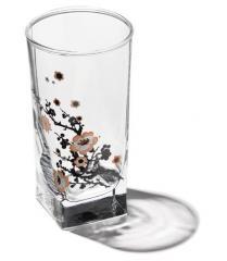 Piles for vodka, shot glasses, wine glasses,