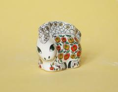 Horse the Apple, a figure from porcelain, a tiny
