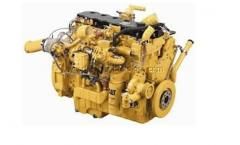 The Caterpillar engine for the bulldozer