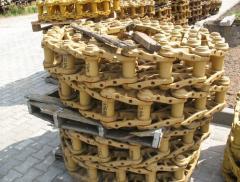 Caterpillars for the bulldozer VOLVO - CAT - JCB -