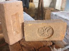 Clinker of manual molding Ekaterinoslavsky