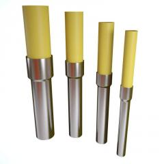 Transition PE/steel, transition polyethylene-steel