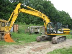 The caterpillar JCB excavator - 220