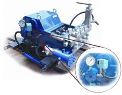 Pump three-plunger T