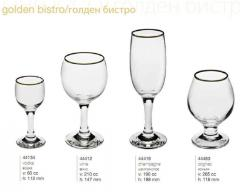 Shot glasses, glasses for cognac, ware Pasabahce