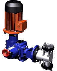 Units electric pump dosing ND, NDR, NDE (pr-in