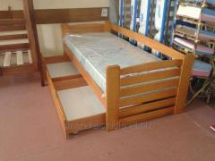 Bed children's Carlson (beech)