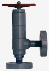 Клапаны угловые запорные  22лс69нж  ( УФ 23032 ) PN=40; DN= 6,10, 15, 25, 32, 40.