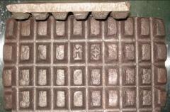 Copper phosphorous the MF-9 brands in chushka