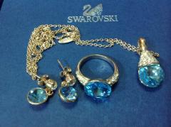 Элитные украшения с кристалkами Swarovski