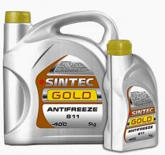 L Sintec Gold 5 antifreeze yellow