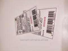 Label marking for barley