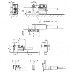 Магнитный преобразователь линейных перемещений Мод. МТ UAB Precizika Metrology